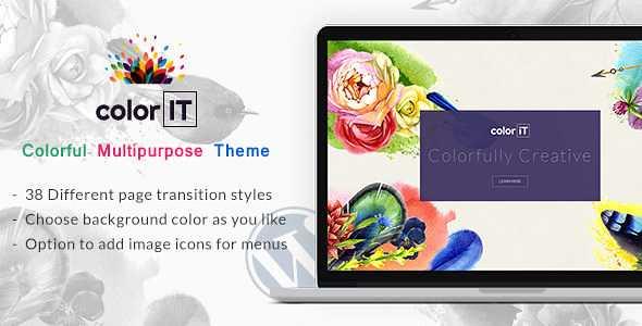 Color IT WordPress Theme free download
