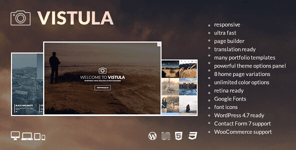 Vistula WordPress Theme free download