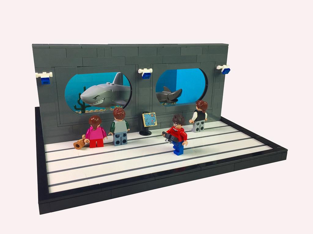 Aquarium (custom built Lego model)