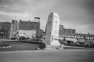 Edmonton War Memorial, Vimy Day, 9 April 1938