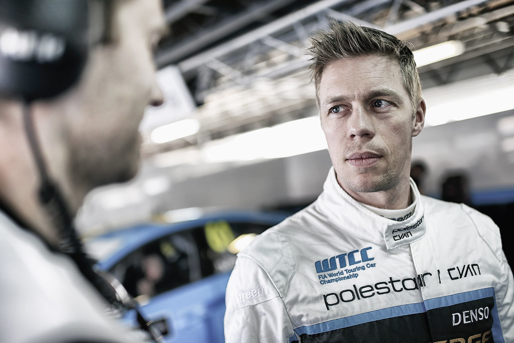 BJORK Thed (swe) Volvo S60 Polestar team Polestar Cyan Racing ambiance portrait during the 2017 FIA WTCC World Touring Car Race of Morocco at Marrakech, from April 7 to 9 - Photo Jean Michel Le Meur / DPPI.