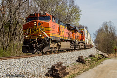 BNSF 5312   GE C44-9W   NS Memphis District