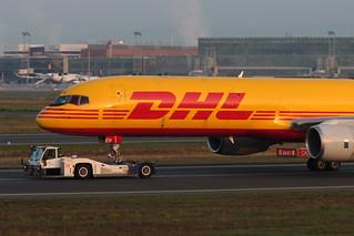 DHL (European Air Transport - EAT) Boeing 757-236(SF) D-ALEH