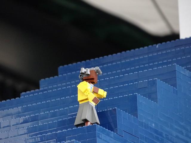 Największy statek z klocków Lego 8