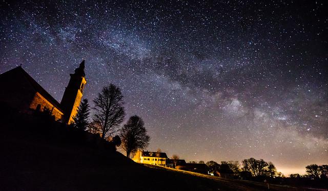Milky Way Storm - New Moon Milky Way March 2017 - No. 2