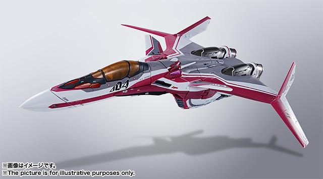 【更新官圖】DX超合金《超時空要塞Δ》VF-31C齊格菲 (米拉潔·法莉娜·吉納斯機)