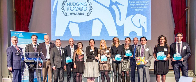 AIM Nudging for Good Awards Dinner (Concert Noble, Brussels)