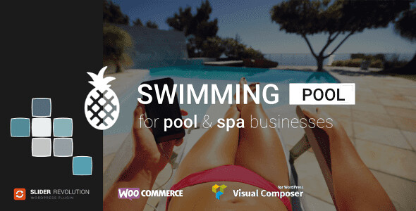 Swimming Pool and Spa WordPress Theme free download
