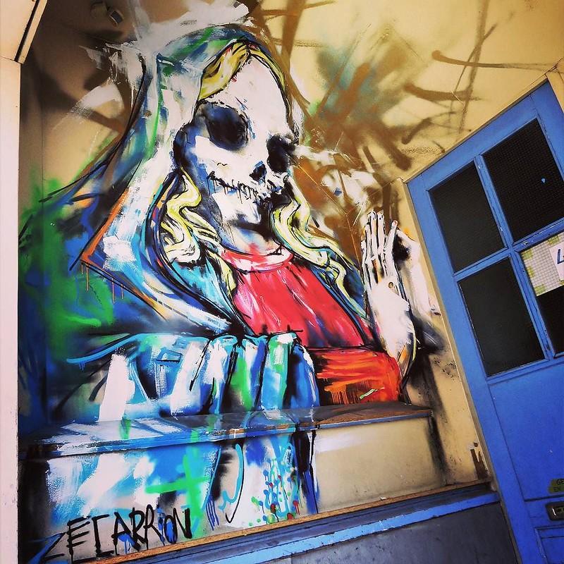 #monday, let's #pray / #art by #Zecarrion - #Brugge #Belgium #streetart #graffiti #streetartbel #streetart_daily #urbanart #urbanart_daily #graffitiart_daily #graffitiart #streetarteverywhere #mural #wallart #ilovestreetart #igersstreetart #igersbe #