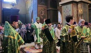 Литургия в Софийском соборе 120
