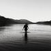 night lake. play. Glendhu bay, Lake Wanaka by Le Fabuleux Destin d'Amélie