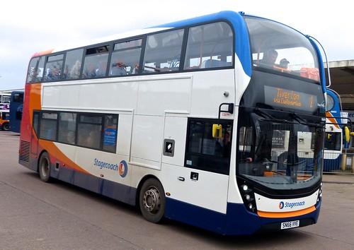 SN66 VVE 'Stagecoach South West' No.10694 Alexander Dennis Ltd. E40D / Alexander Dennis Ltd. Enviro 400MMC on 'Dennis Basford's railsroadsrunways.blogspot.co.uk'