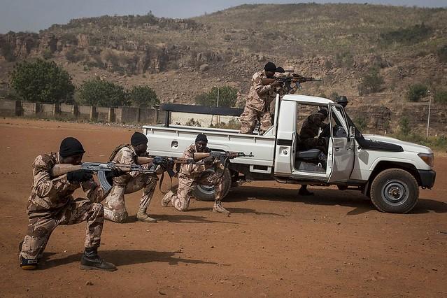 Εθνοφρουροί του Μάλι. Φωτογραφία: ΟΗΕ