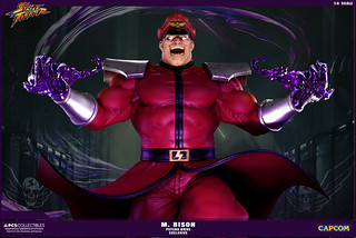 Pop Culture Shock 貝卡 1/4 比例雕像 原色限定版 M.BISON 1:4 Ultra Statue PCS Psycho Drive Exclusive
