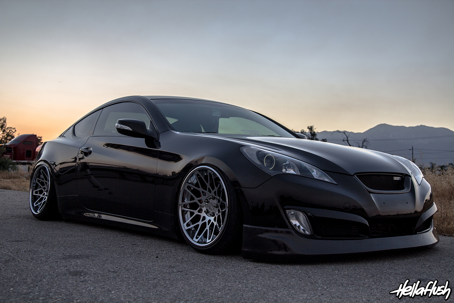 Big rick s slammed genesis coupe feature w more goodies page 6 hyundai genesis forum