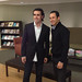 Dario Franchitti and Helio Castroneves at Men's Health Magazine