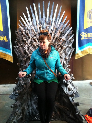 I sit on the Iron Throne