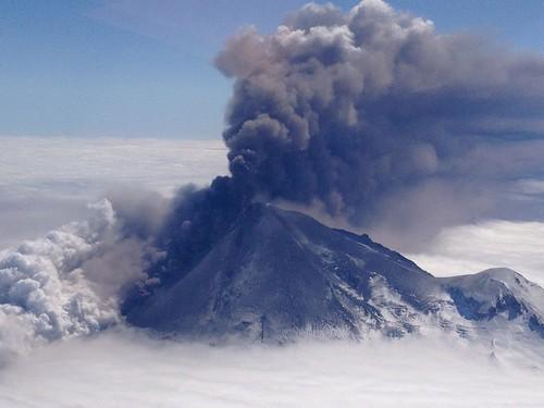 volcano earth space nasa goddard pavlofvolcan