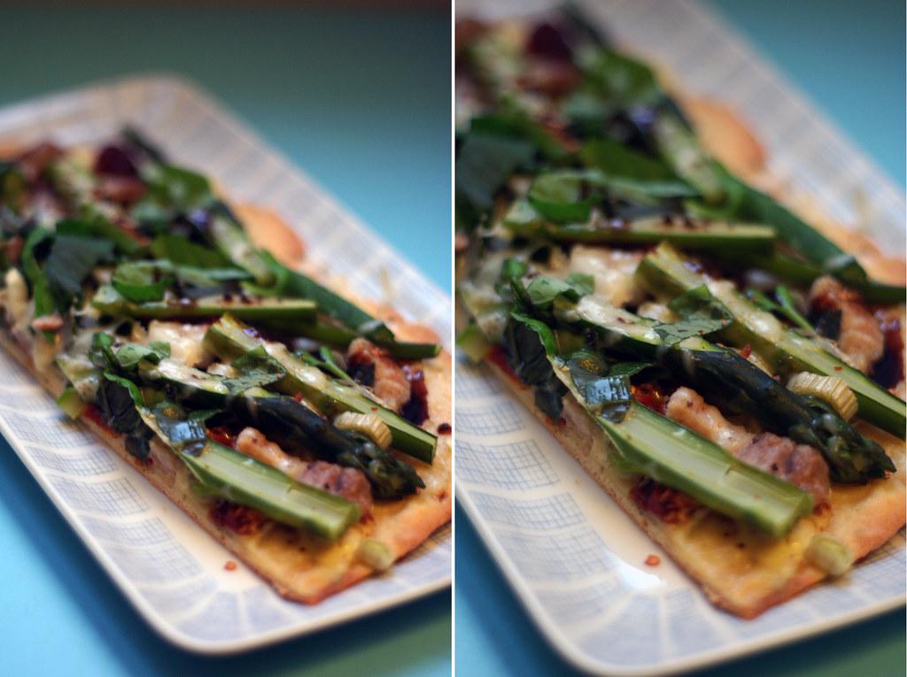 spargelpizza mit getrockneten tomaten nach tim mälzer