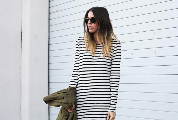 Modern Legacy Fashion Blog Australia ASOS State of Fashion Bassike stripe Isabel Marant khaki Ray Ban (1 of 1)