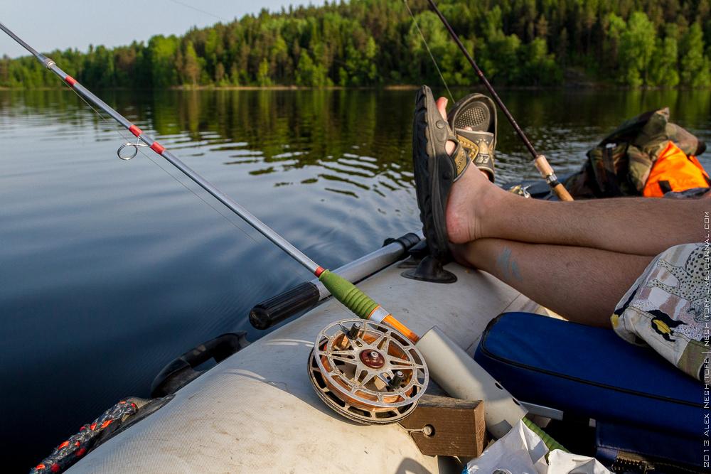 рыбалка в карелии на легковом автомобиле