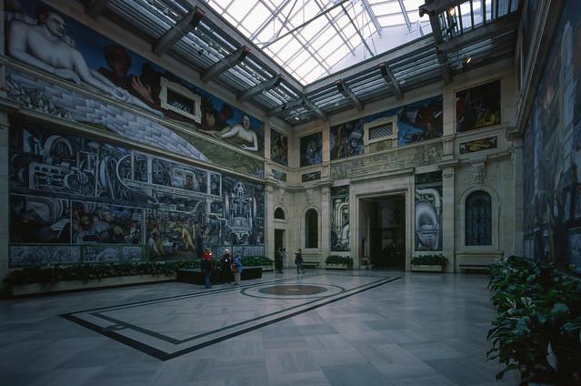 Diego Rivera room
