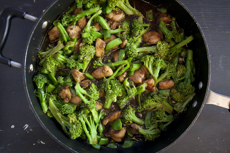 Chicken and BroccoliIMG_3185