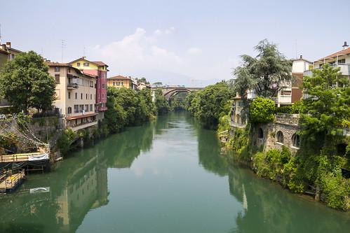 Ponte S. Pietro (BG), Fiume Brembo