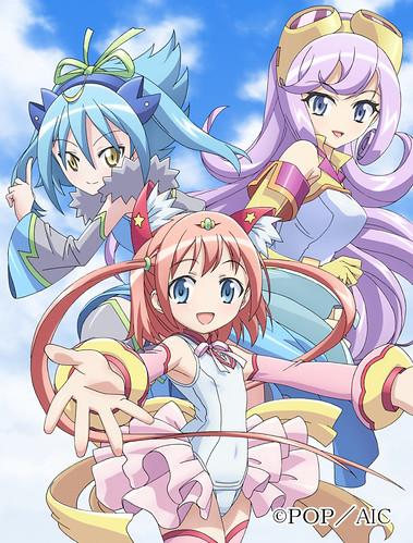 130625(1) - 『萌單』短篇動畫《這就是宅英語!Ribon醬 ~用英語戰鬥的魔法少女~ the TV》將從7/5首播!