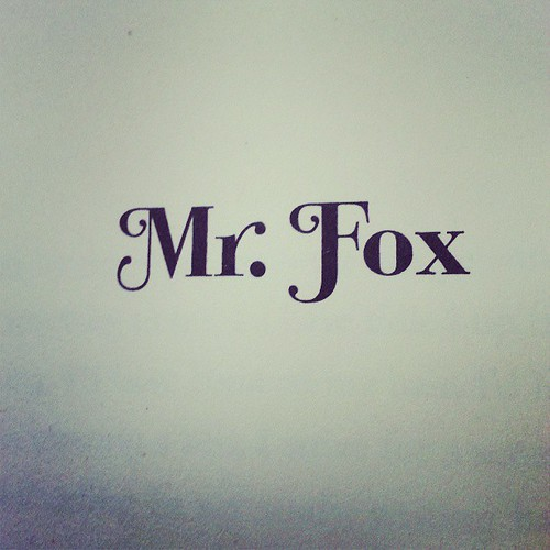 Mr. Fox                                      #books #reading