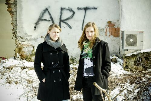 Anna Resch und Lisa Enzenhofer