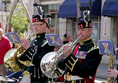 SCOTS Band in Gibraltar - French Horn section