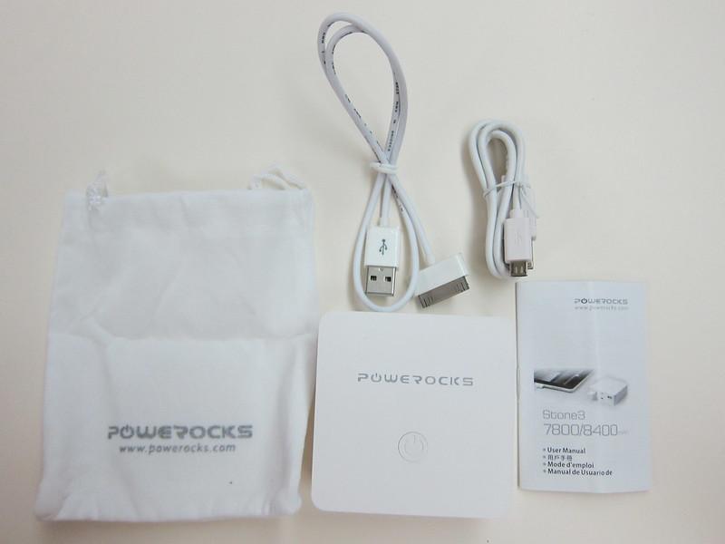 Powerocks Stone 3 - Box Contents