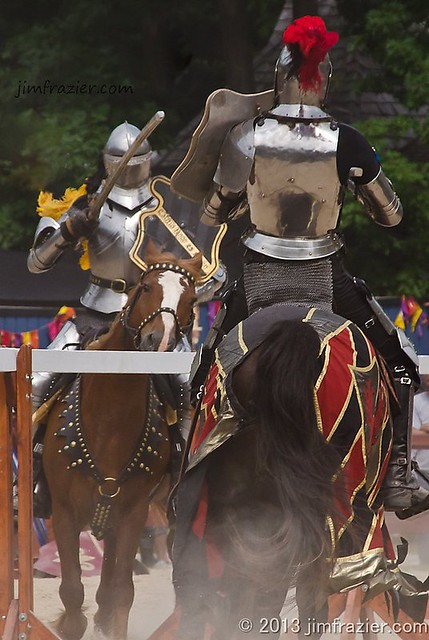 Some Friendly Jousting
