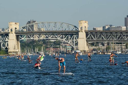 Big Chop Paddle Race