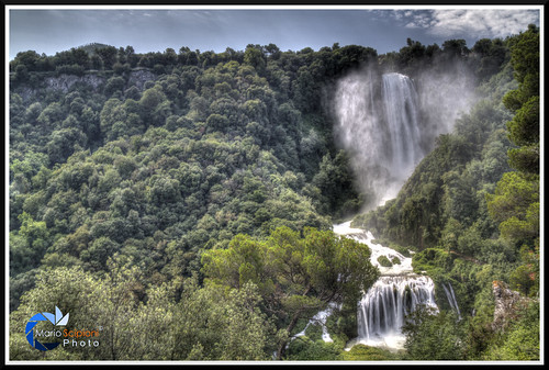 Marmore falls 1 -HDR