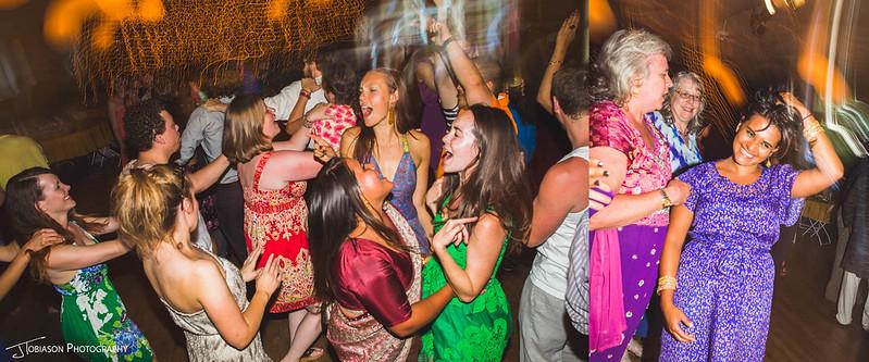 Dancing orcas island wedding