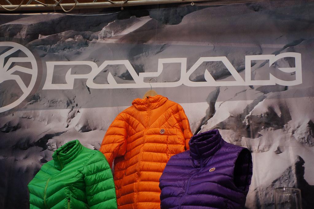 Pajak down garments