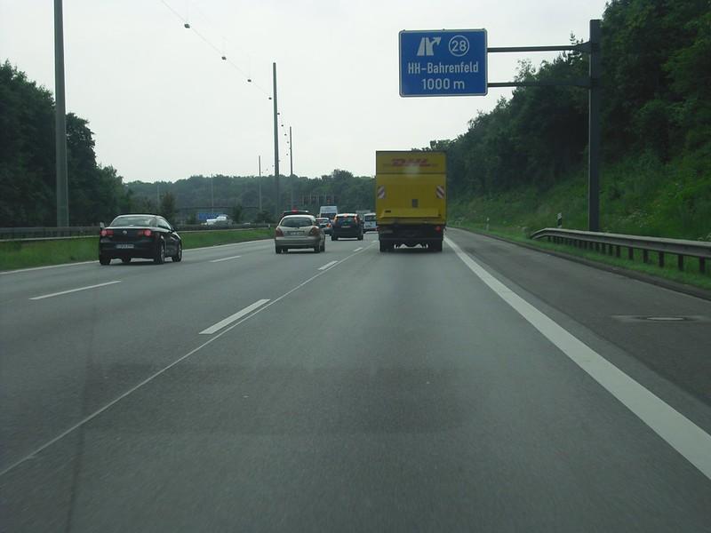 Foto a007 flensburg rendsburg hamburg wegenforum for Tunnel schnelsen