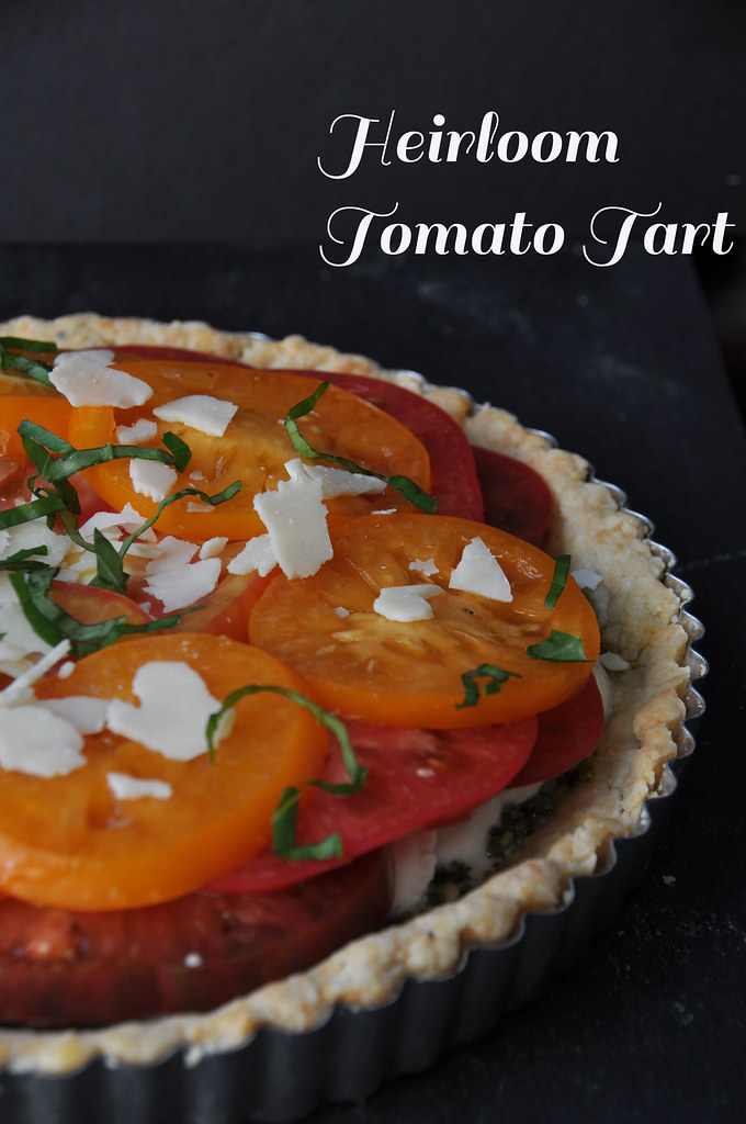 Heirloom Tomato Tart 8
