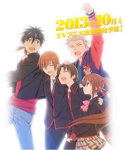 130731(1) - 電視動畫續集《リトルバスターズ!~Refrain~》(Little Busters! ~Refrain~)將在10月開播、「西園美魚」首任聲優回歸陣容!