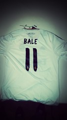 My new t-shirt of Gareth Bale of real Madrid