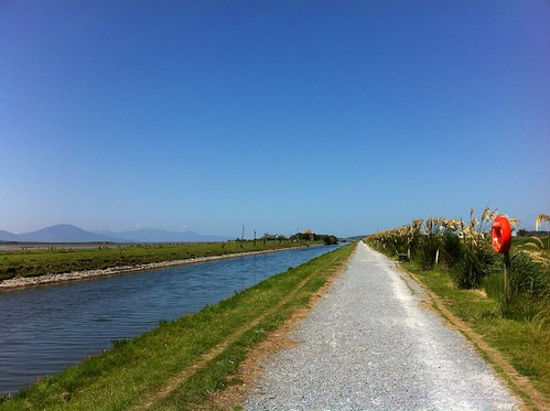 blue ireland sky seascape mountains beautiful landscape canal day view kerry clear tralee pampasgrass blennerville iphone4 seacanal ilobsterit pathcaminho