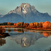 Late September - Oxbow Bend by Jeff Clow