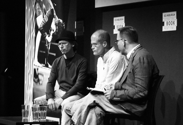 Chris Ware & Joe Sacco at the Edinburgh Book Fest 2013 03