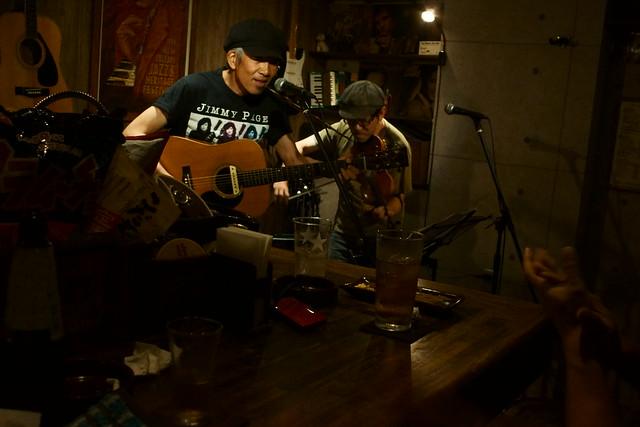 春日善光 live at 楽や, Tokyo, 16 Aug 2013. 020