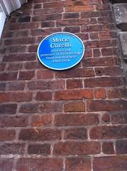 Photo of Marie Corelli blue plaque
