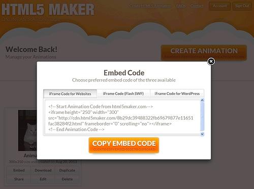HTML5 maker 10