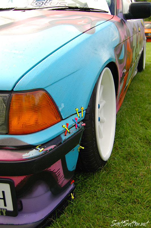 zip tie bimmer at retro rides gathering 2013