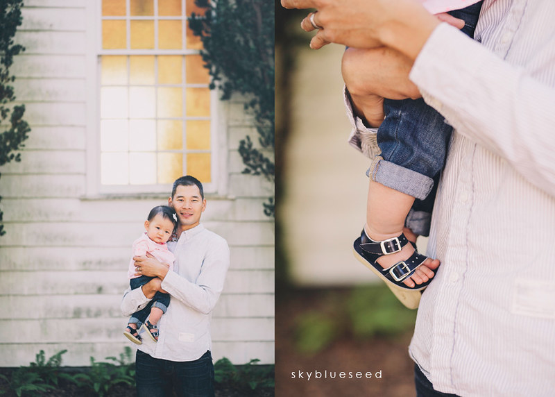 Sandals with daddy